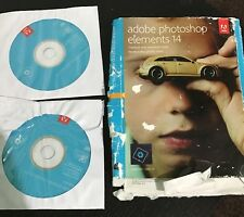 Adobe Photoshop Elements 14 - Retail Boxed (PC/Mac) Please Read Description