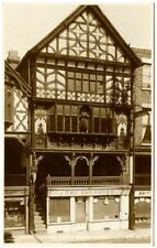 Old Rare Postcard Shop Fronts King Charles House Chester Unused (Ref: AC751)