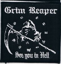 GRIM REAPER embroidered patch keel omen onslaught