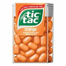 4 Pack - Tic Tac Orange 1oz Each