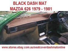 DASH MAT, DASHMAT MAZDA 626 SEDAN 1979 - 1981 BLACK