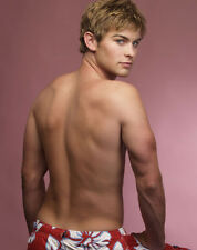 Chace Crawford UNSIGNED photo - D1371 - TOPLESS!!!!!