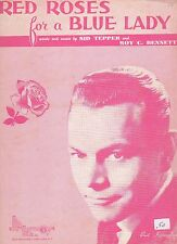 Bert Kaempfert Red Roses For A Blue Lady  US Sheet Music