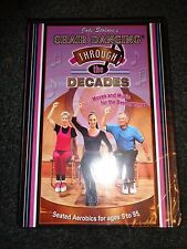 JODI STOLOVE'S CHAIR DANCING THROUGH THE DECADES-Fun exercise in your chair-DVD