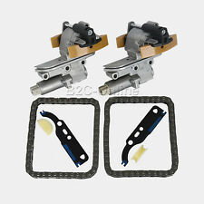 New 2 Kits For VW Passat Audi A4 A6 2.7T 2.8 V6 Camshaft Timing Chain Tensioner