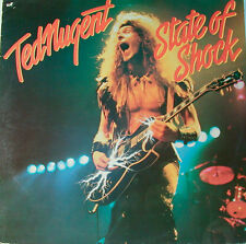"TED NUGENT - STATE OF SHOCK  12"" LP (L11)"