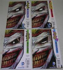 BATMAN & ROBIN, DETECTIVE, NIGHTWING & RED HOOD #15 DIE-CUT COVERS (VF) JOKER