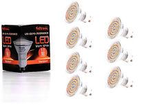 7X GU10 LED Lampe von Seitronic mit 3,5 Watt, 300LM und 60 LEDs Warm weiß 2900K