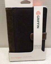 "Griffin Elan Passport Folio for 7"" Tablets & eReaders-Chocolate/Black- GB04016"
