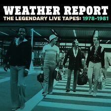 WEATHER REPORT - THE LEGENDARY LIVE TAPES 1978-1981 4 CD NEU