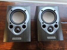 Mission M30i Bookshelf Speakers WORK PERFECTLY * FREE SHIPPING