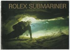 Rolex Submariner 2000 brochure libretto 16613 16618 16610 14060 16600 OEM