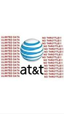 AT&T Unlimited Data Rental 4G LTE 3 day trial (SIM Card only)