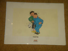 The Blue Lotus (Le Lotus Bleu) - Original Tintin Poster - still sealed