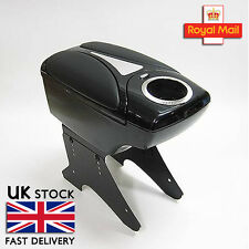 Black Armrest Center Console Fits Kia Carens Ceed Magentis Optima Pregio Rio