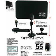 Digital Indoor TV Antenna Ready HD Flat Design High Gain HD TV DTV Box OY