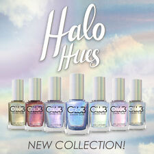 Color Club Halo Hues 2015 Collection Nail Lacquer Polish Full Collection 7 color