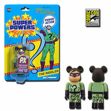 Be@rbrick 100% DC Super Powers The Riddler 2013 SDCC Exclusive - Medicom Toys