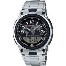 Casio AW80D-1A2V, Analog/Digital Combo Watch, Databank, 3 Alarms,10 Year Battery