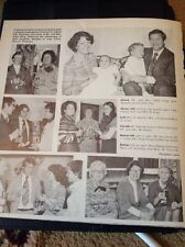 Ephemera 1978 Article Christening Peter King Natasha Coventry With Guests Mr815
