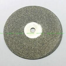 """6"""" Grit #60 Diamond Coated Flat Lap Wheel For Lapidary Grinding Disc Disk Tool"""
