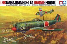 Tamiya 61013 1/48 Scale Aircraft Model Kit WWII Nakajima Ki-84-IA Hayate(Frank)