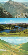 Cumbria ,Lake district  x3 Tarn Hows Newlands,Gt Gable  unposted 1960's/70's