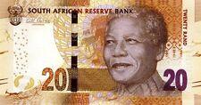 Afrique du sud  - South Africa billet neuf de 20 rand pick 139 UNC