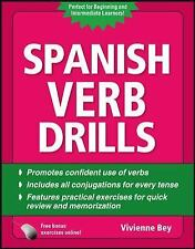 Spanish Verb Drills, Fourth Edition by Vivienne Bey (2010, Paperback)