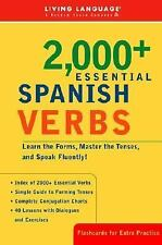 Essential Vocabulary: 2000+ Essential Spanish Verbs : Learn the Forms, Master...