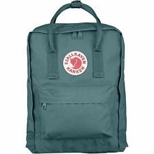 New Women Men Fjallraven Kanken 23510 Classic Backpack (#664 Frost Green)