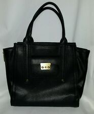 PHILIP LIM 3.1 Large Black Tote Handbag Bag Purse Carry On Laptop Case