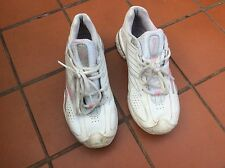 REEBOK DMX RIDE LADIES WHITE & Pink TRAINERS/RUNNING/SPORTS SHOES SIZE 3