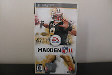 Madden NFL 11  (PlayStation Portable, 2010) *Tested/Complete