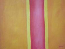 contemporary abstract large oil painting canvas original minimal Rothko style