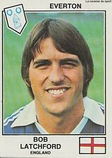 N°368 BOB LATCHFORD EVERTON.FC STICKER PANINI EURO FOOTBALL 79 ENGLAND