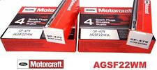 SET OF 8 MOTORCRAFT PLATINUM SPARK PLUGS SP479 AGSF22WM FAST & FREE SHIPPING!!