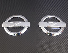 JDM CHROME Z EMBLEM X2 FOR 2003-2008 NISSAN 350Z
