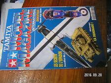 1µ?a Revue Tamiya Model Magazine n°43 Rafale Marine P.A Charles de Gaulle YZR500