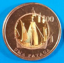 Oecusse 1 pataca 2015 UNC Ship Bi-metallic East Timor Oecussi unusual coin