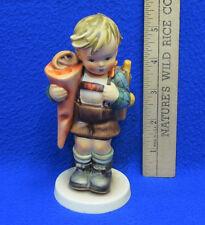 Vintage 1983 Hummel Goebel Little Scholar Porcelain Figurine Boy Backpack 60