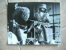 Led Zeppelin Live B&W 11x14 Promo Photo Jimmy Page Robert Plant