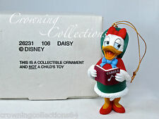 Grolier Daisy Duck Caroling Disney Ornament Christmas Magic DCO Vintage MIB CUTE
