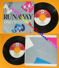 LP 45 7'' RUNAWAY One two three 1983 italy BABY RECORDS BR 50287 no cd mc dvd