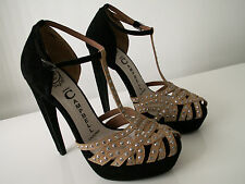 new JEFFREY CAMPBELL ibiza last platform heels shoes size UK 6 EU 39 rrp £155