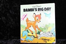 Walt Disney BAMBI'S BIG DAY Mini Pop-Up Book ©1976