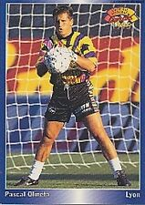 N°083 PASCAL OLMETA LYON LYONNAIS CARTE PANINI FOOTBALL 95 FRANCE CARDS 1995
