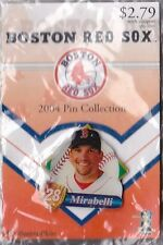 BOSTON RED SOX 2004 WORLD SERIES WINNER GLOBE PROMO PIN SERIES DOUG MIRABELLI