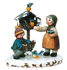 Hubrig Volkskunst, Erzgebirge, WiKi Vogelfütterung,110h1004