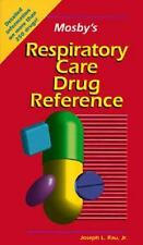 Mosby's Respiratory Care Drug Reference